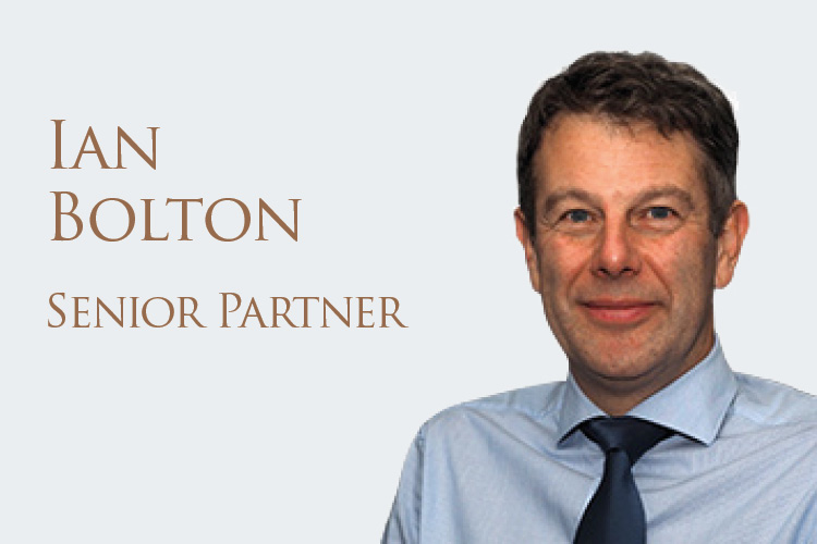 Five Minutes with . . . Ian Bolton