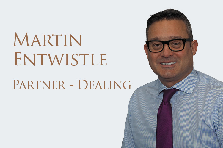 Five Minutes With...Martin Entwistle